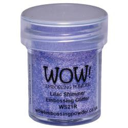 WOW Embossing Powders - Lilac Shimmer Embossing Glitter