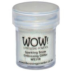 WOW Embossing Powders - Sparkling Snow Embossing Glitter