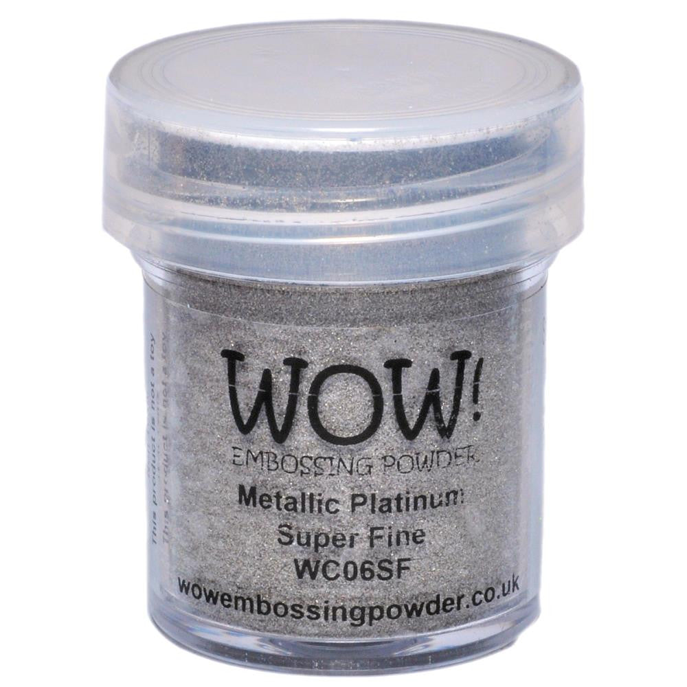 WOW Embossing Powders - Super Fine - Metallic Platinum