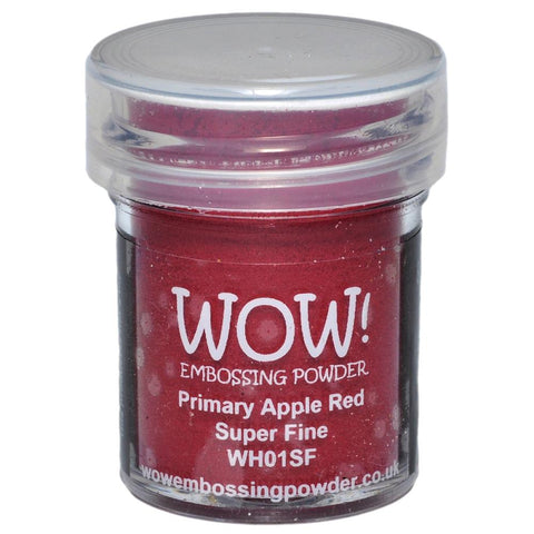 WOW Embossing Powders - Primary Apple Red