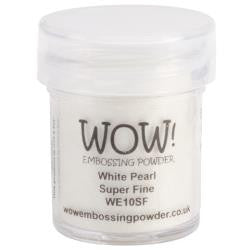 WOW Embossing Powders - White Pearl Super Fine