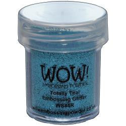 WOW Embossing Powders - Totally Teal Embossing Glitter