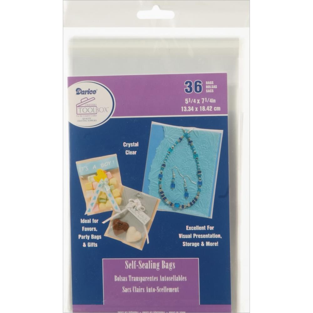 Darice Craft Designer - Self-Sealing Bags