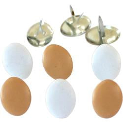 EyeLet OutLet -Brown/White Eggs