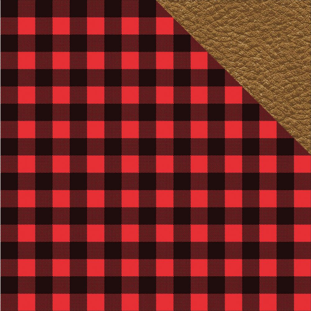 Reminisce Paper 12x12 - [Collection] - Hunters Paradise - Hunters Plaid