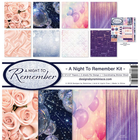 Reminisce Collection Pack - [Collection] - A Night To Remember Kit