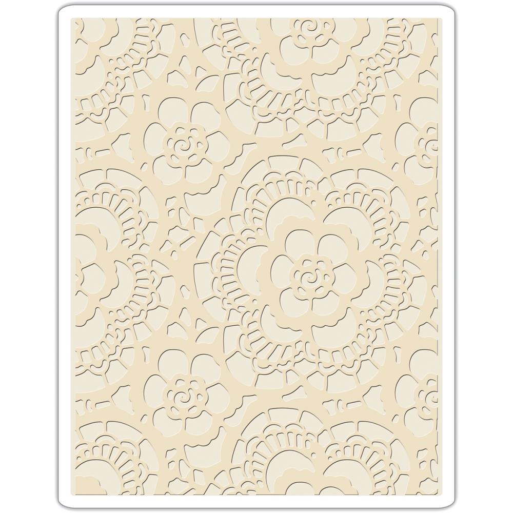 Sizzix Embossing Folders - [Tim Holtz] - Lace