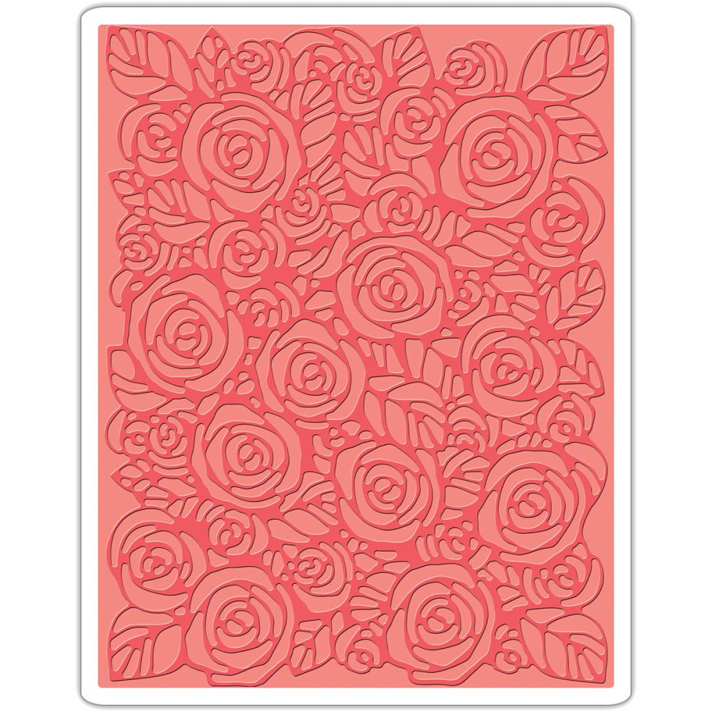 Sizzix Embossing Folders - Texture Fades - Roses