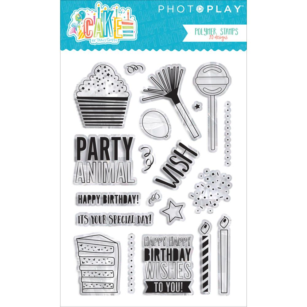 Photo Play Polymer Clear Stamps - [Collection] - CAKE