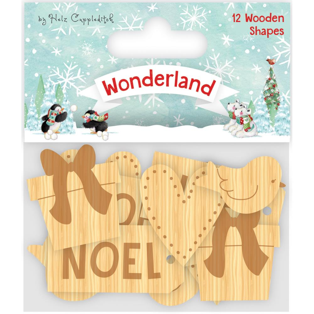 Craft Blog [Helz Cuppleditch] Collection - Wonderland Wooden Shapes