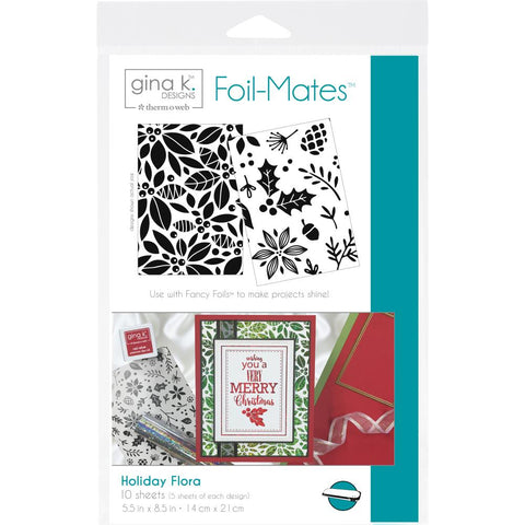 Therm-o-web Gina K Designs Foil Mates - Holiday Flora