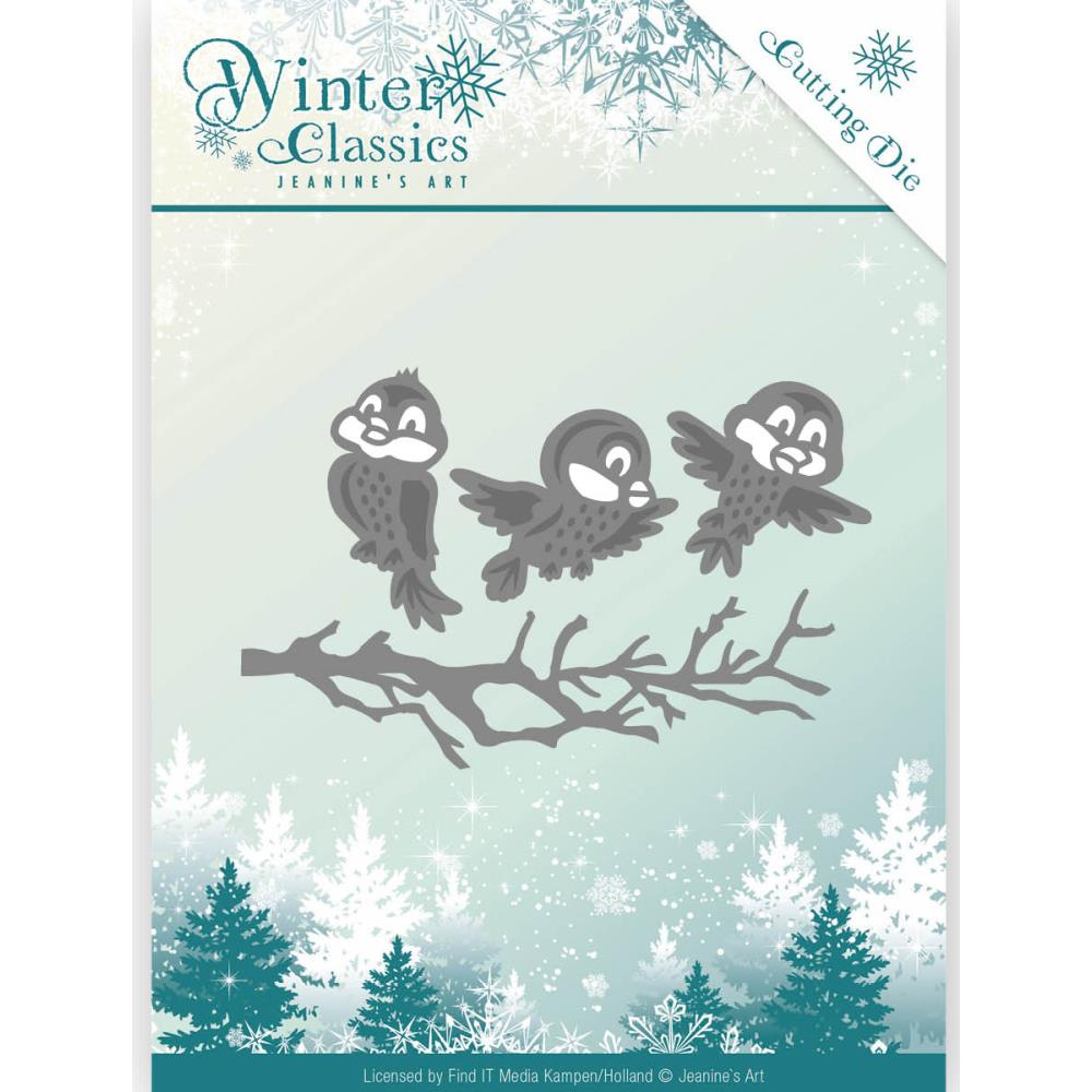 Find It Dies  [Jeanine's Art] - Winter Classics - Winter Birds
