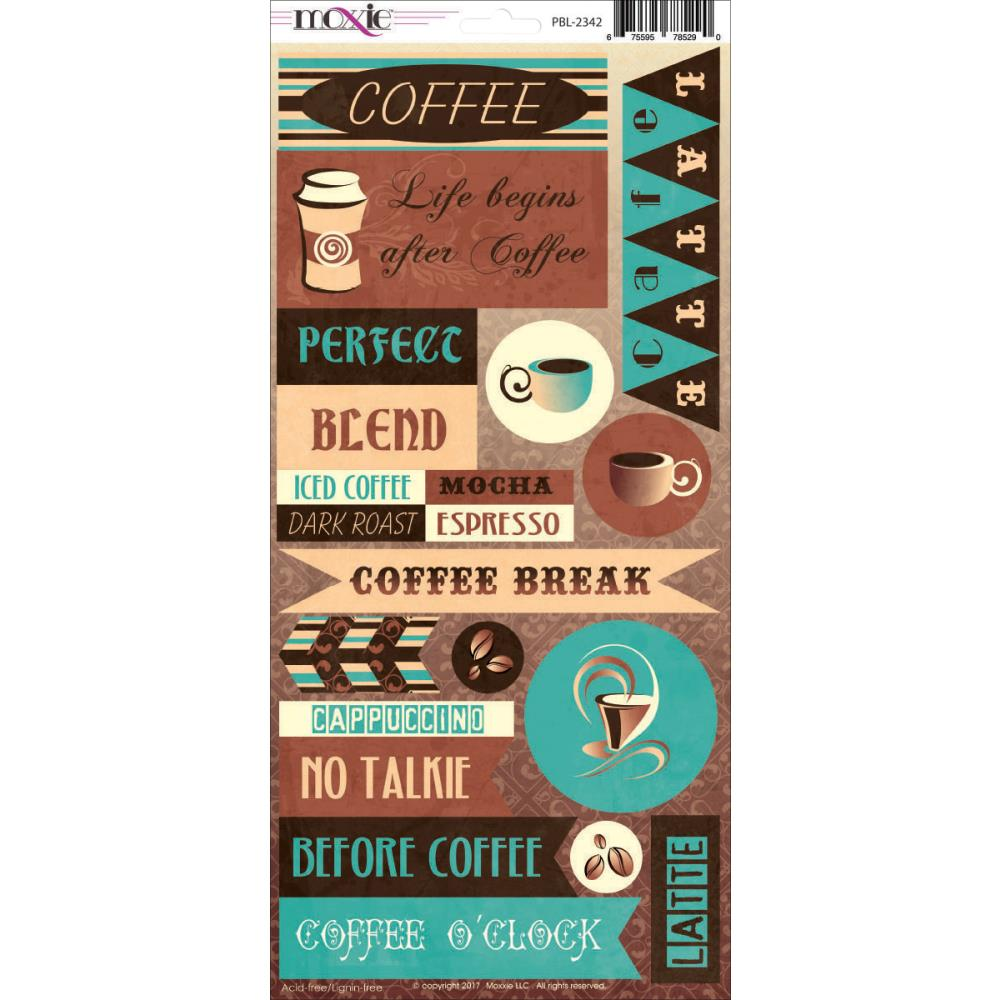 Moxxie 6x12 Cardstock Stickers [Collection] - Perfect Blend