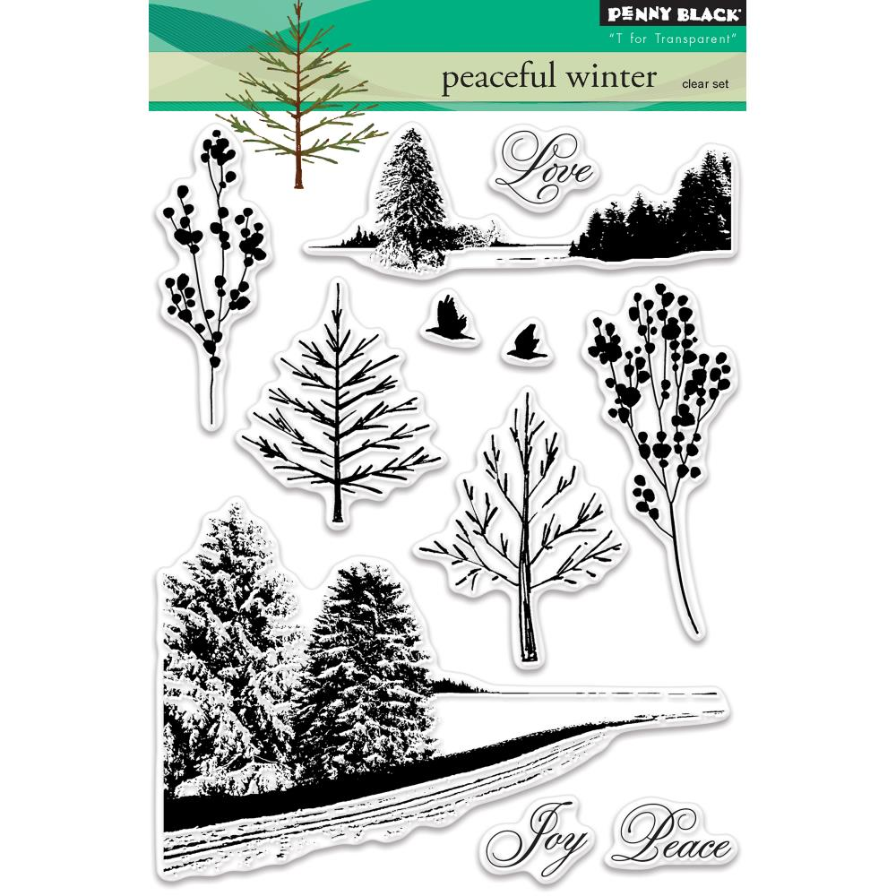 Penny Black Clear Stamps - Peaceful Winter