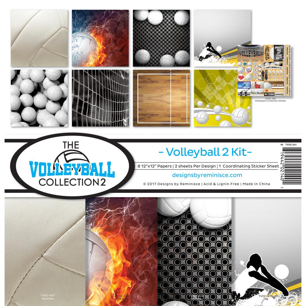 Reminisce Collection Pack - [Collection] - Volleyball 2 Kit