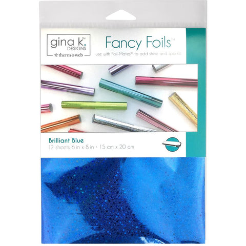 Therm-o-web Gina K Designs Fancy Foils - Brilliant Blue