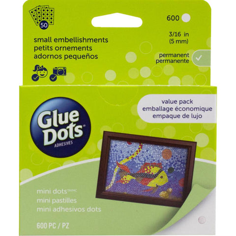 Glue Dots - Mini Glue Dots 600