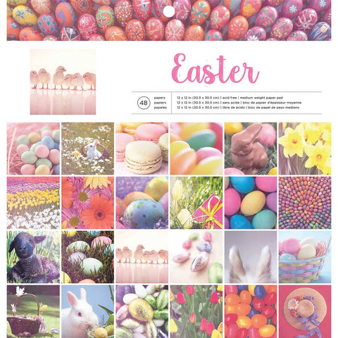 American Crafts 12x12 Paper Pad  [Collection] - Easter