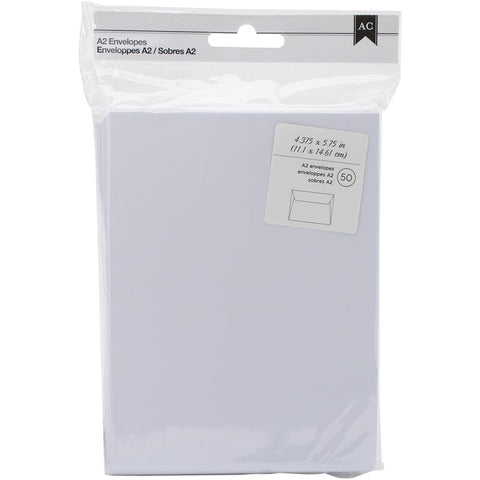 American Crafts A2 Envelopes - Pack of 50