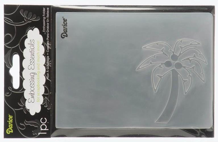 Darice Embossing Folder - Palm Tree