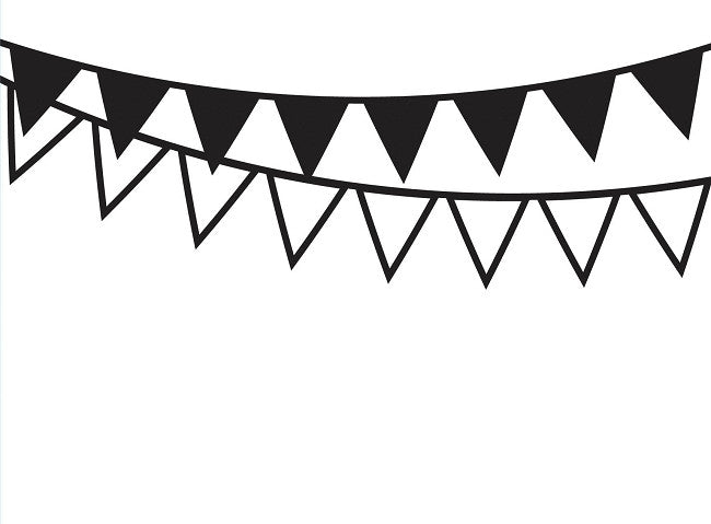Darice Embossing Folder - Bunting