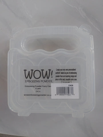 WOW! Embossing Powder Carry Case