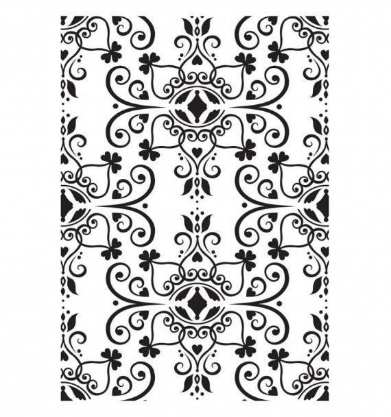 Kaisercraft Embossing Folder - Ornate Flourish Plate