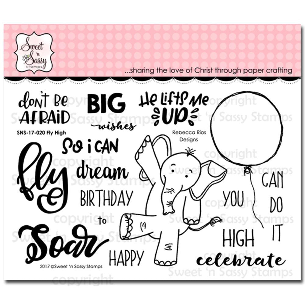 Sweet n Sassy Clear Stamps  - Fly High