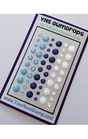 Your Next Stamp Glitter Gum Drops [Enamel Dots] - Ice Ice Baby