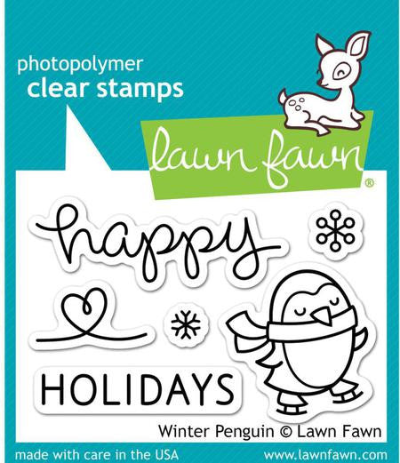 Lawn Fawn [Stamp & Die - PART] - (Clear, Photopolymer) - Winter Penguin