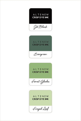 Altenew - Mini Dye Inks - Green Fields