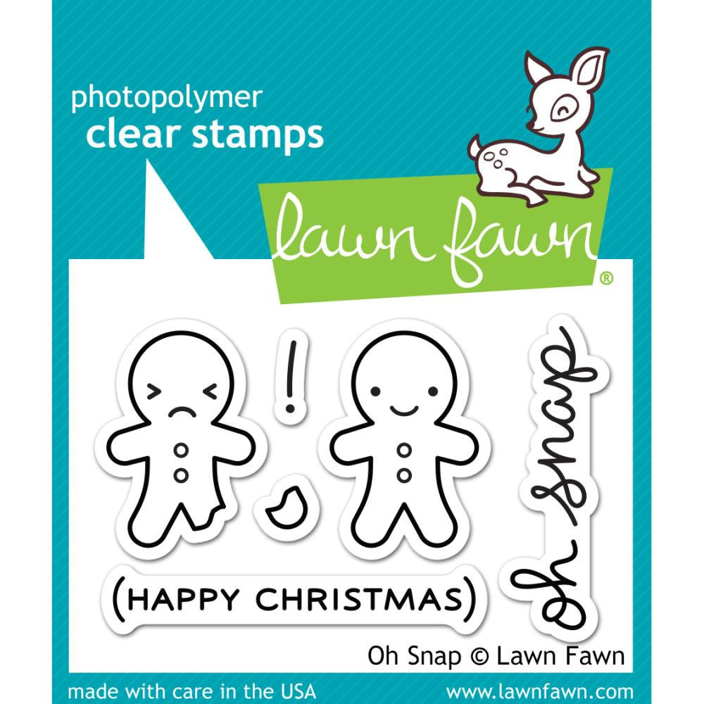 Lawn Fawn Stamp [Stamp & Die - PART] - Oh Snap