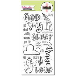 Sweet n Sassy Clear Stamps  - Rebecca Rios Designs - Sing Loud