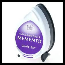 Memento Tear Drop Ink Pad - Grape Jelly