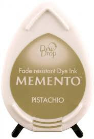 Memento Tear Drop Ink Pad - Pistachio