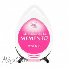 Memento Tear Drop Ink Pad - Rose Bud
