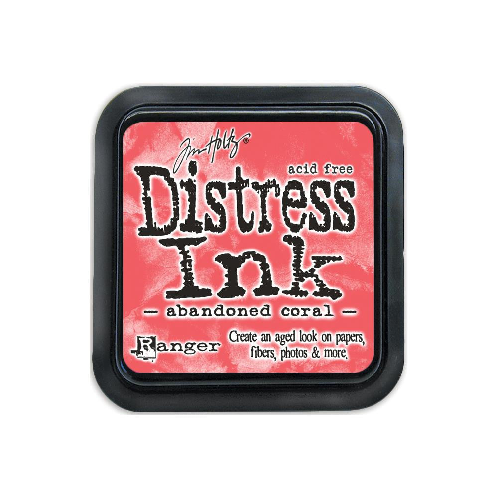 Tim Holtz Distress Ink Pad Full Size - Abandoned Coral
