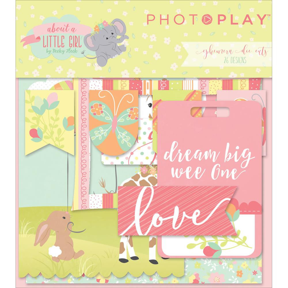 Photo Play Paper Ephemera - [Collection] - About a Little Girl