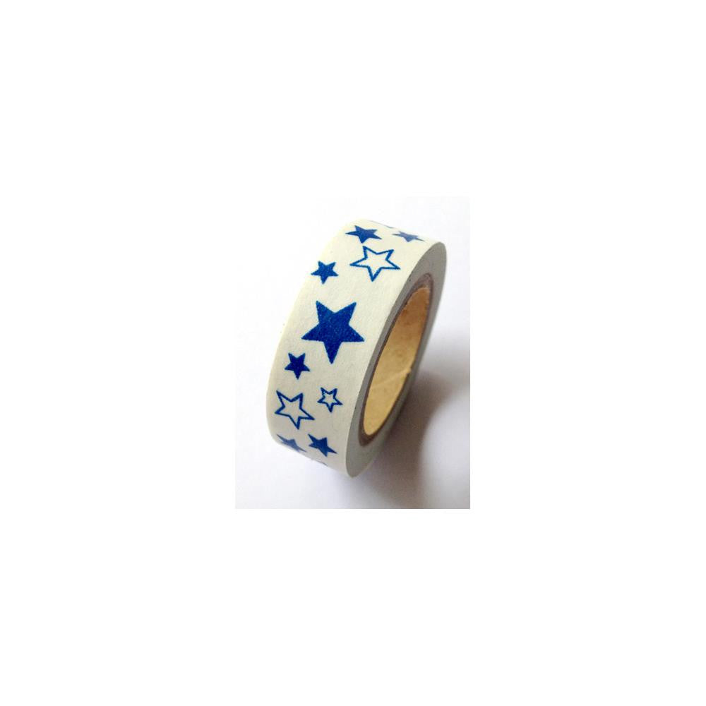 Queen & Co. Washi Tape - Blue Star