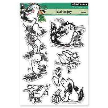 Penny Black Stamps - Jolly Critters