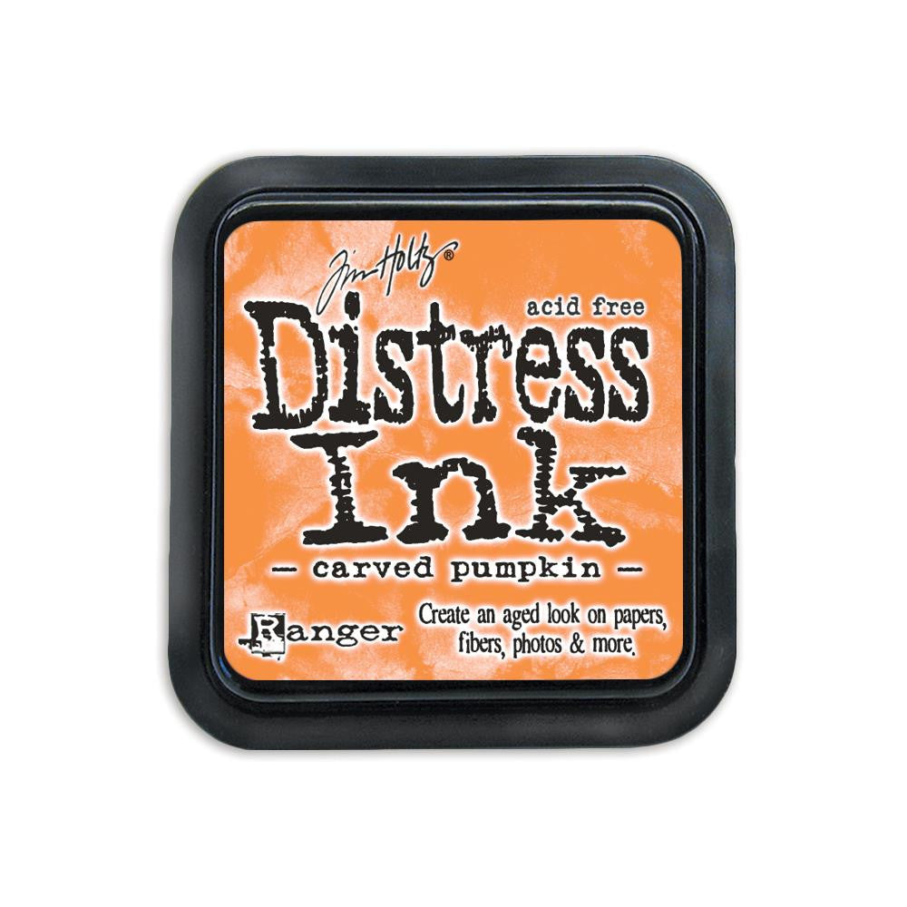 Tim Holtz Distress Ink Pad Full Size - Carved Pumpkin