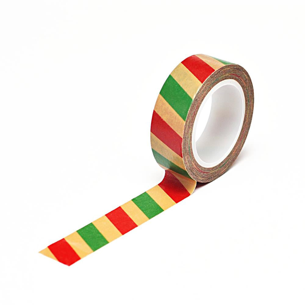 Queen & Co. Washi Tape - Christmas Stripe