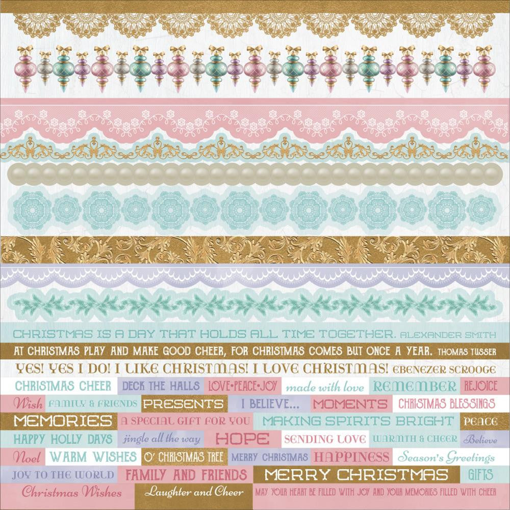 Kaisercraft Cardstock Stickers - [Collection] - Christmas Wishes