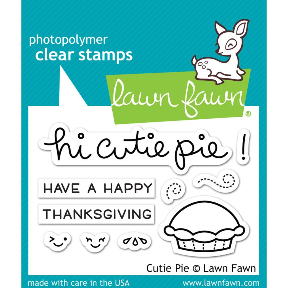 Lawn Fawn Stamp [Stamp & Die - PART] - Cutie Pie