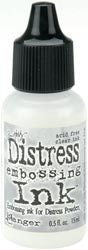 Tim Holtz Distress Embossing ReInker CLEAR