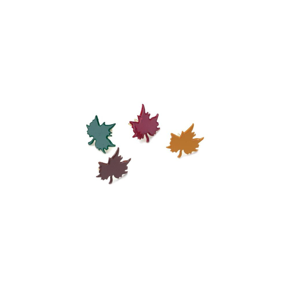 Creative Expression Brads - Fall Maple Leaves