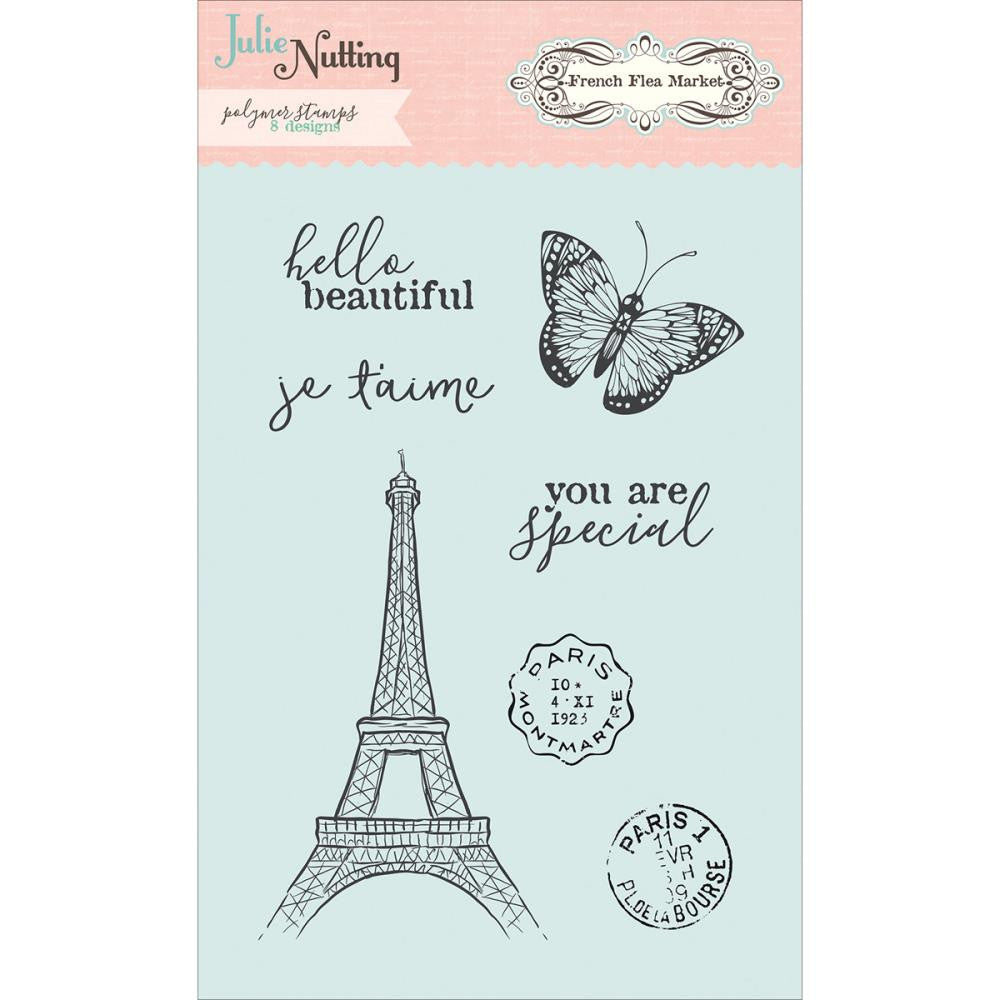 Photoplay Clear Stamps - Julie Nutting French Flea market