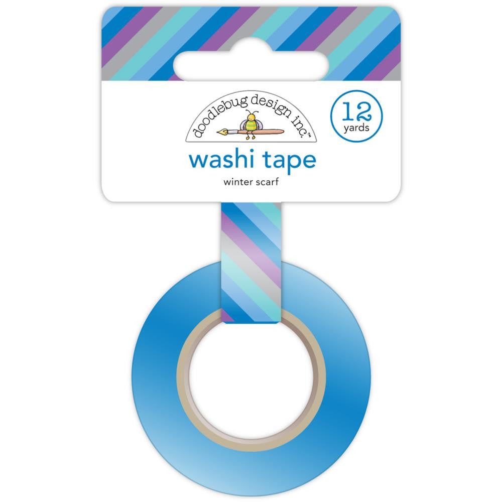 Doodlebug Design Washi Tape - Frosty Blanket
