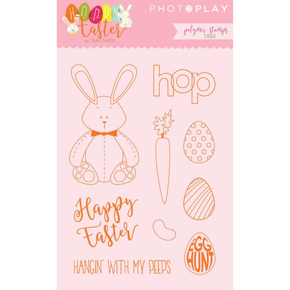 Photo Play Paper Stamps - [Collection] - Hoppy Easter