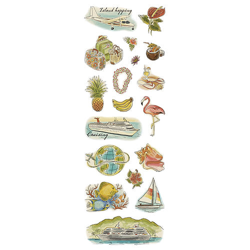 American Traditional Designs - Island Hopping